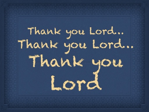 Thank you Lord.001